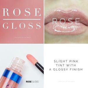 NWT SeneGence LipSense Rose Gloss